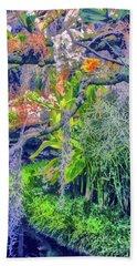 Tropical Garden Bath Towel