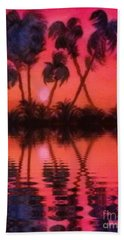 Tropical Heat Wave Bath Towel by Holly Martinson