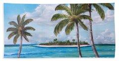 Tropical Island Hand Towel