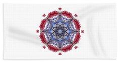 Tropical Mandala By Kaye Menner Hand Towel