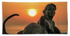 Tropical Mermaid Hand Towel