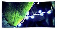 Bath Towel featuring the digital art Tropical Night by Mindy Newman