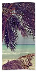 Tropical Ocean View Hand Towel