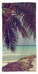 Tropical Ocean View Hand Towel