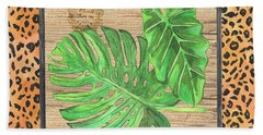 Tropical Palms 2 Bath Towel