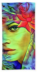Tropical Paradise Hand Towel