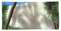 Tropical Shadows Bath Towel