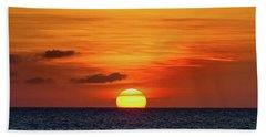 Tropical Sunset Bath Towel