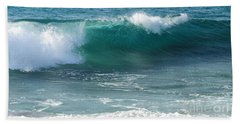Tropical Treasure Coast Florida Seascape Wave 99 Bath Towel