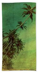 Tropical Vestige Bath Towel