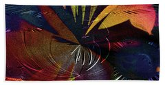 Hand Towel featuring the digital art Tropicale by Paula Ayers