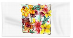 Hand Towel featuring the photograph Tropicana By Kaye Menner by Kaye Menner