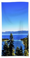 Trough The Trees Hand Towel
