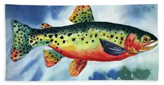 Trout Bath Towel