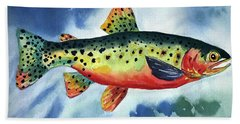 Trout Hand Towel