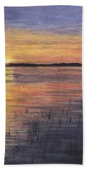 Trout Lake Sunset II Hand Towel