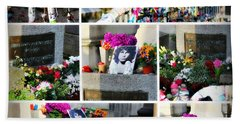 Bath Towel featuring the photograph Jim Morrison True To Himself by Katie Wing Vigil