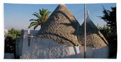 Trullo, Ostuni, Puglia Bath Towel