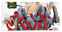 Trump Chaos Hand Towel