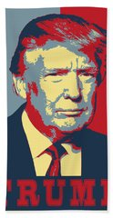 Trump Pop Art  Hand Towel
