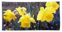 Trumpets Of Spring Hand Towel
