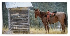 Trusty Horse  Hand Towel