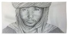 Tuareg Beduin Hand Towel