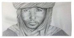 Tuareg Beduin Bath Towel