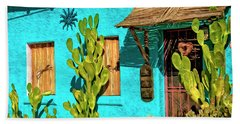 Tucson Blue Bath Towel