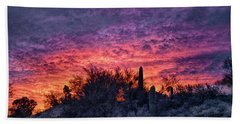 Tucson Sunrise Hand Towel