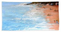 Bath Towel featuring the painting Tuesday On Maui by Fred Wilson