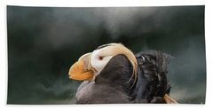 Tufted Puffin Bath Towel