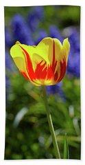 Tulip Flame Bath Towel
