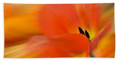 Tulip In Motion Hand Towel