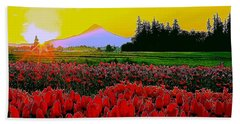 Tulip Sunrise Hand Towel