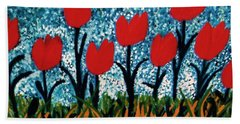 Tulip Time Hand Towel
