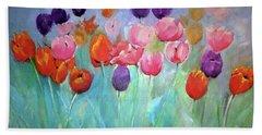 Tulip Timeless By Lisa Kaiser Hand Towel