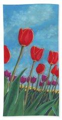 Tulip View Hand Towel