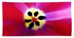 Tulip Vivid Floral Abstract Bath Towel