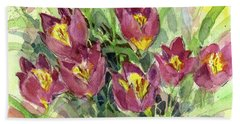 Tulipa Hand Towel