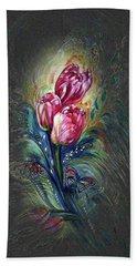 Tulips Fantasy Hand Towel