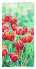 Tulips In Amsterdam Hand Towel