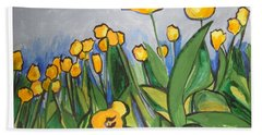 Tulips In Springtime Hand Towel
