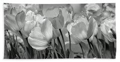 Tulips Bath Towel by JoAnn Lense