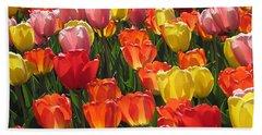 Tulips Like Sunlight Hand Towel