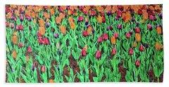Tulips Tulips Everywhere Bath Towel