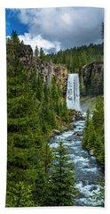 Tumalo Falls Bath Towel