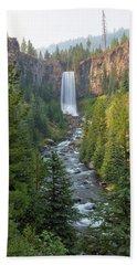 Tumalo Falls In Bend Oregon Bath Towel