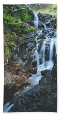 Hand Towel featuring the photograph Tumbling Down by Laurie Search