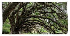 Hand Towel featuring the photograph Tunnel In Charleston by Jon Glaser
